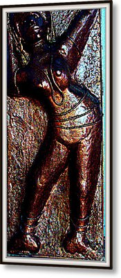 Dancing Girl Metal Print by Anand Swaroop Manchiraju