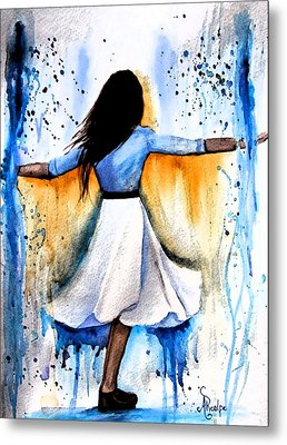Dancing With My Soul Mate Metal Print by Andrea Realpe