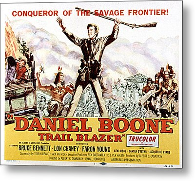 Daniel Boone, Trail Blazer, Bruce Metal Print by Everett