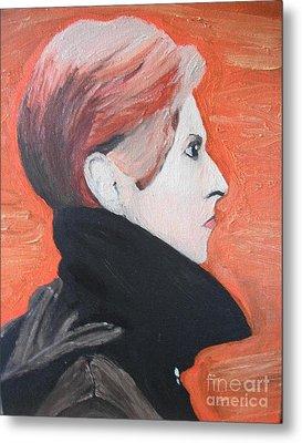 David Bowie Metal Print by Jeannie Atwater Jordan Allen