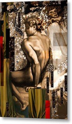 David Et Julie Metal Print by Karine Percheron-Daniels