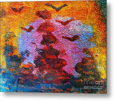 Day Time Is Here Metal Print by Fania Simon