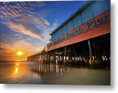 Daytona Sunrise Metal Print by Ryan Heffron