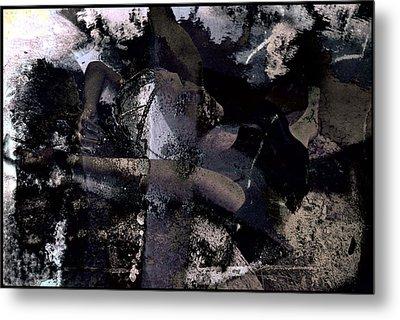 Dead Sea Blues Metal Print by Adam Kissel