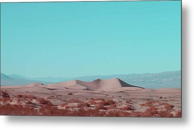 Death Valley Dunes 2 Metal Print by Naxart Studio