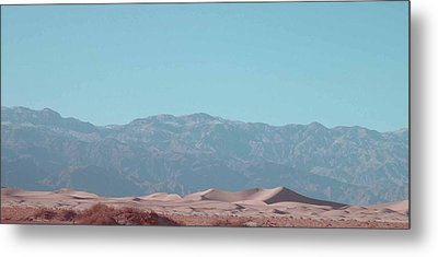 Death Valley Dunes Metal Print by Naxart Studio