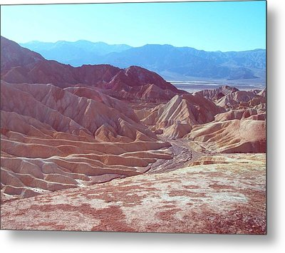 Death Valley Mountains 2 Metal Print by Naxart Studio