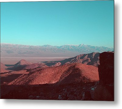 Death Valley View 1 Metal Print by Naxart Studio