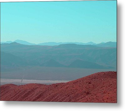 Death Valley View 2 Metal Print by Naxart Studio