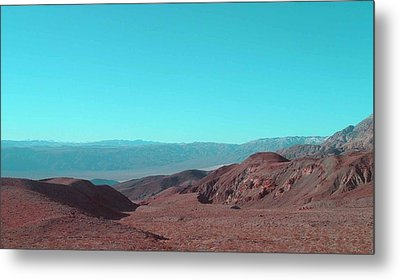 Death Valley View Metal Print by Naxart Studio