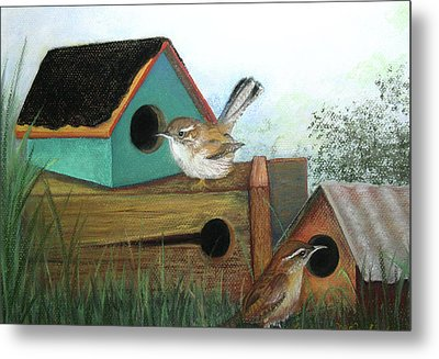 Decisions Decisions Metal Print by Lorraine McFarland