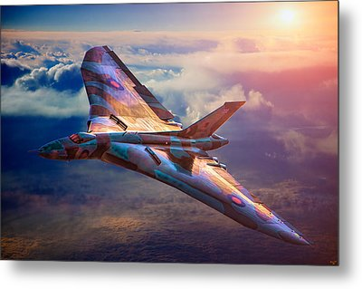 Delta Lady Metal Print by Chris Lord