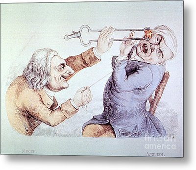 Dentistry Tooth Extraction 1810 Metal Print by Science Source