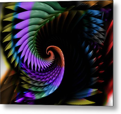 Descending Flight Metal Print by Anthony Caruso