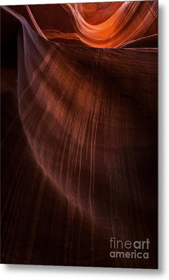 Desert Rain Metal Print by Mike  Dawson
