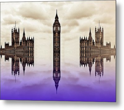 Detached From Time Metal Print by Sharon Lisa Clarke