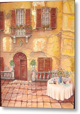 Devoted Metal Print by Cecilia Putter