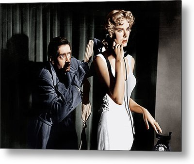Dial M For Murder, From Left Anthony Metal Print by Everett