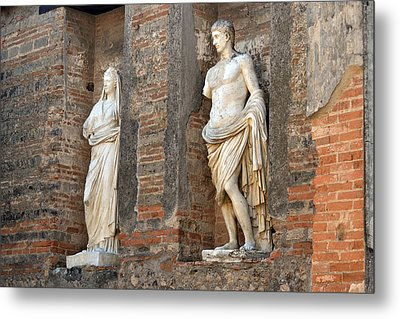 Diana And Apollo. Metal Print by Terence Davis