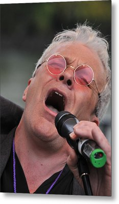 Dicey Riley Frontman Metal Print by Mike Martin
