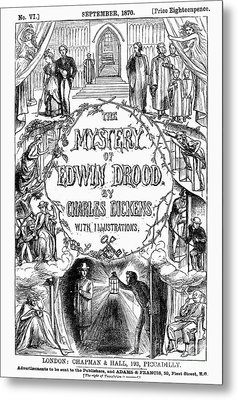 Dickens: Edwin Drood Metal Print by Granger