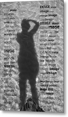 Diction Metal Print by Betsy C Knapp