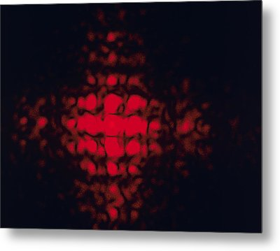 Diffraction Pattern Metal Print by Andrew Lambert Photography