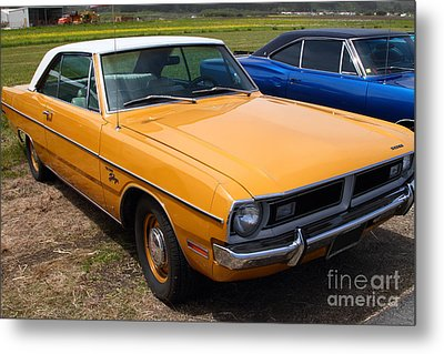 Dodge Dart Swinger . 7d15255 Metal Print by Wingsdomain Art and Photography