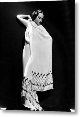 Dolores Del Rio, 1935 Metal Print by Everett