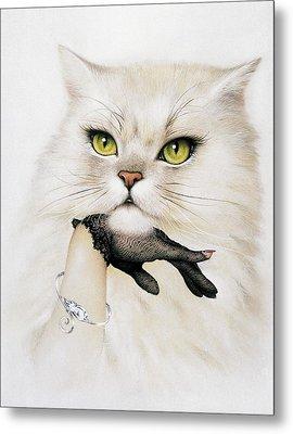 Domestic Cat, Conceptual Image Metal Print by Smetek