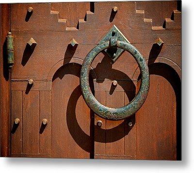 Door Detail Metal Print by Odd Jeppesen