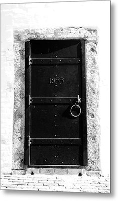 Door To Cape Florida Metal Print by David Lee Thompson