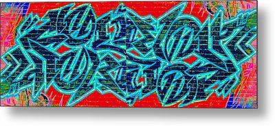 Double Trouble 2 Metal Print by Randall Weidner