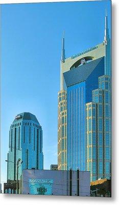 Downtown Nashville I Metal Print by Steven Ainsworth