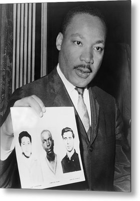 Dr. Martin Luther King 1929-1968 Metal Print by Everett
