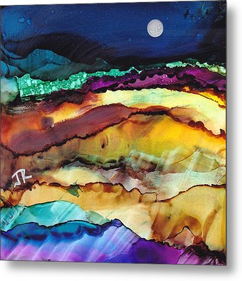 Dreamscape No. 173 Metal Print by June Rollins