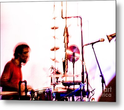 Droid - Drums Amir Ziv Metal Print by Jim DeLillo