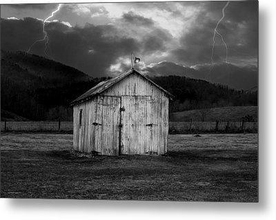 Dry Storm Metal Print by Ron Jones