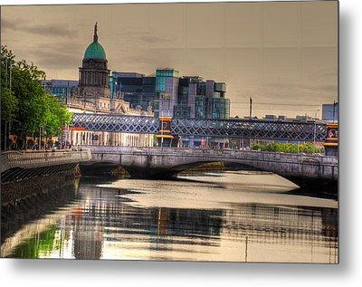 Dublin Metal Print by Barry R Jones Jr