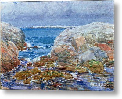 Duck Island Metal Print by Childe Hassam