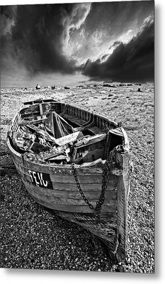Dungeness Decay Metal Print by Meirion Matthias