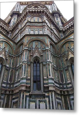 Duomo Florence Italy Metal Print by Micheal Jones
