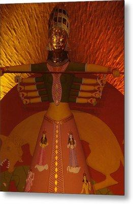 Durga Metal Print by Prasenjit Dhar