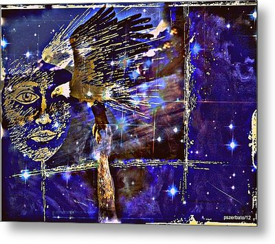 Eagle What Loves Heights And Have Confidence In Your Talon Metal Print by Paulo Zerbato