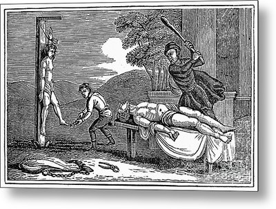 Early Christian Martyrs Metal Print by Granger