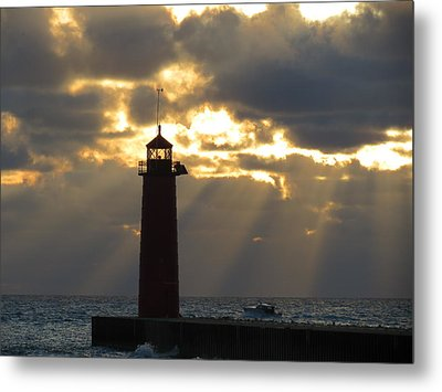 Early Morning Rays Metal Print by Kay Novy