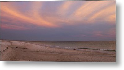 East - After The Sunset Metal Print by Sandy Keeton