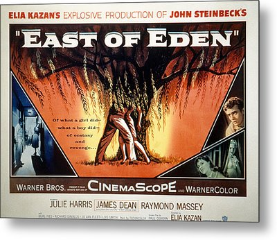 East Of Eden, James Dean, Lois Smith Metal Print by Everett