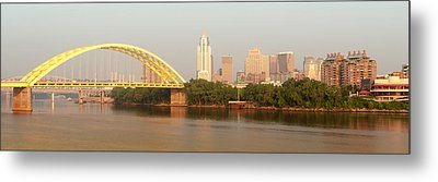 East Side Pano Metal Print by Keith Allen