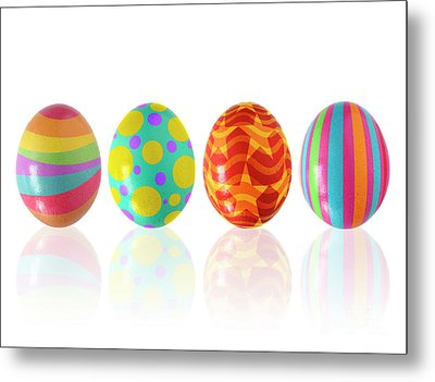Easter Eggs Metal Print by Carlos Caetano